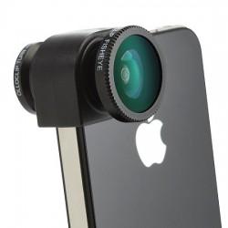 Объектив 3-в-1 для iPhone 4/4S