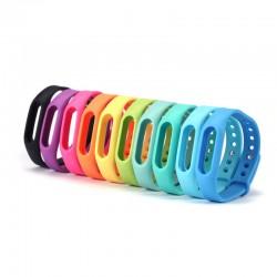 Цветной силиконовый ремешок для фитнес-браслета Xiaomi Mi Band 1A/1S Pulse